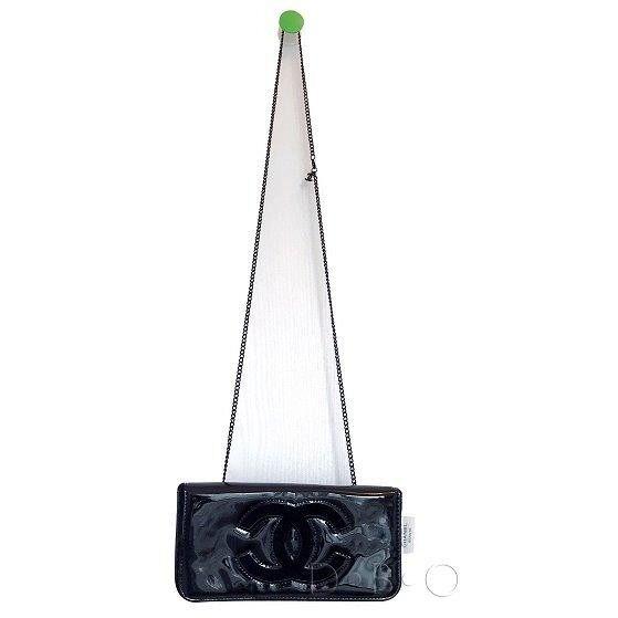 c9e3de49527 Authentic Chanel VIP clutch cross body Bag with Chanel Logo