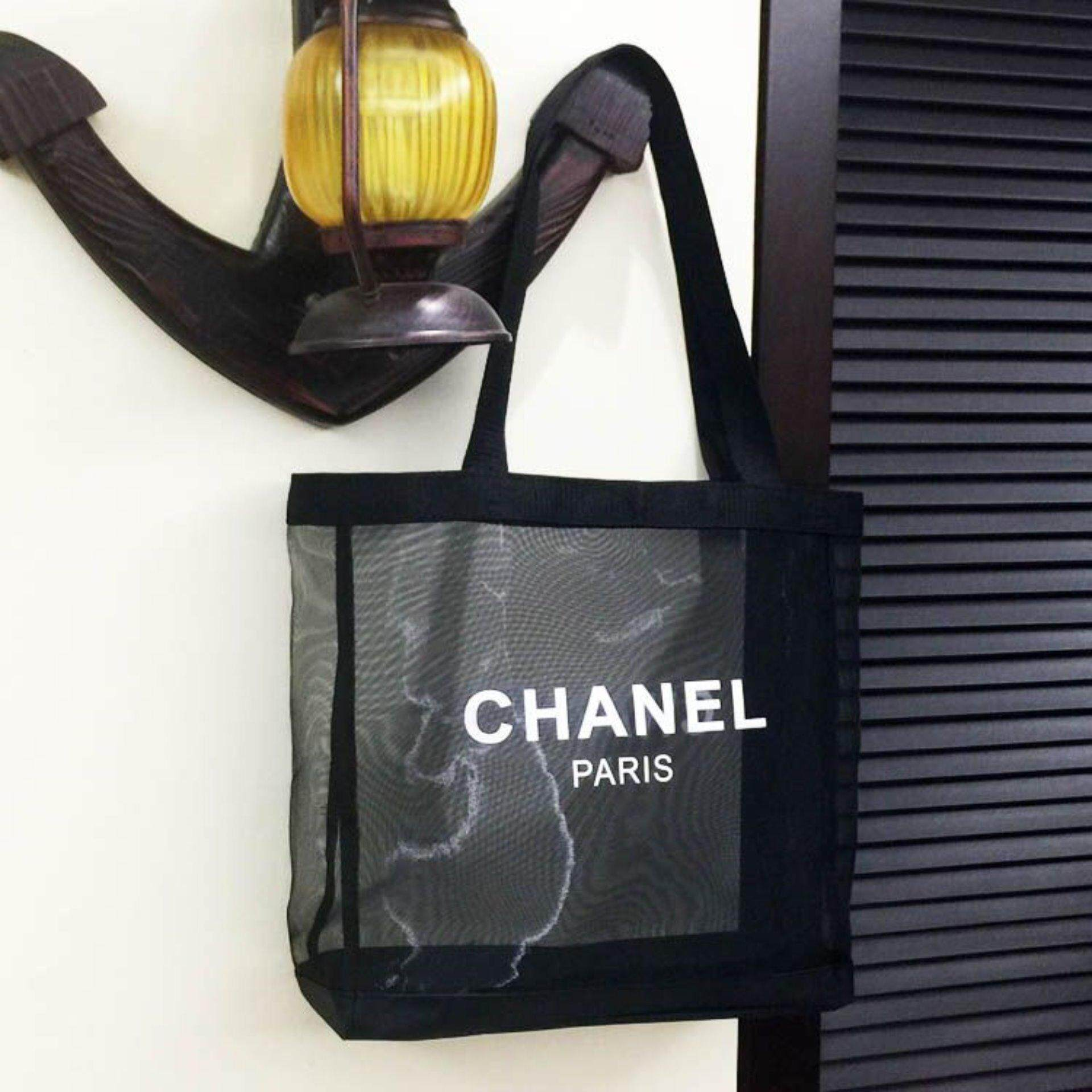 Authentic Chanel VIP GIFT Mesh Tote Bag- Very Rare (Clearance Sale)