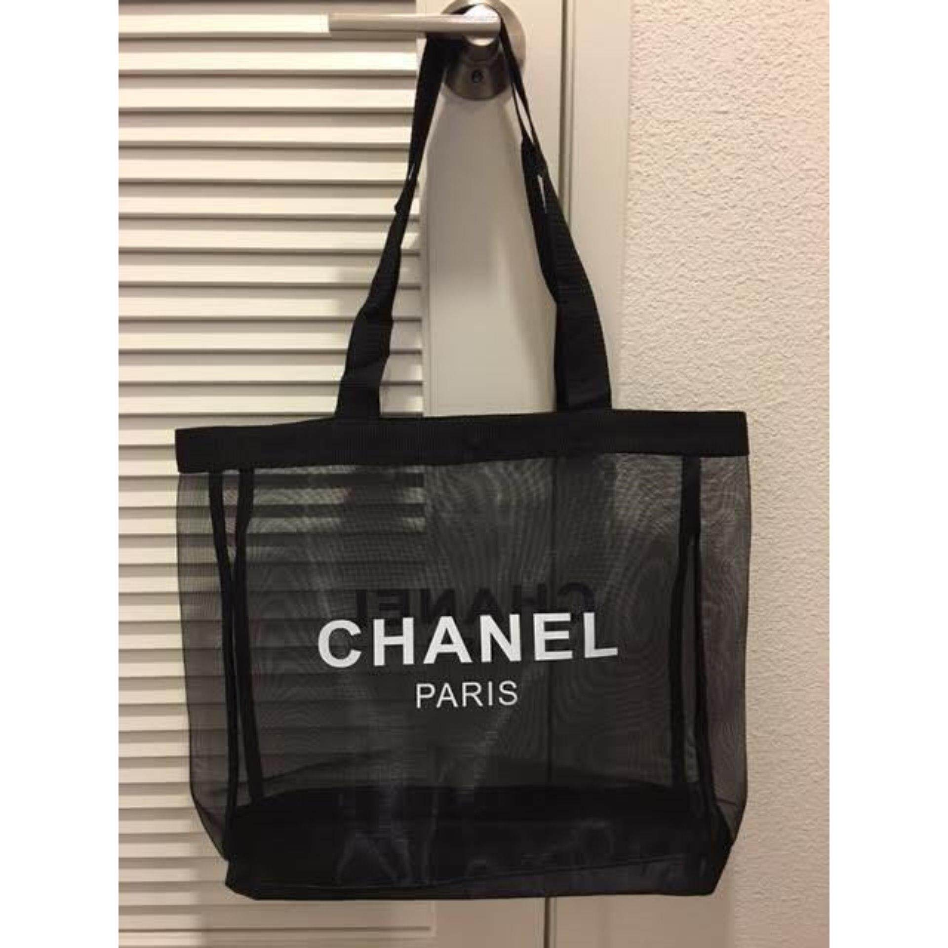 a2cef6bf44a0bc Authentic Chanel VIP GIFT Mesh Tote Bag- Very Rare (Clearance Sale)