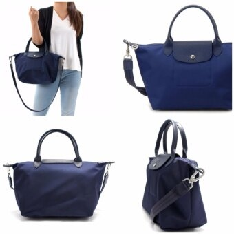 Authentic Longchamp Neo 1515 Medium Navy - Made in France and FreeShipping