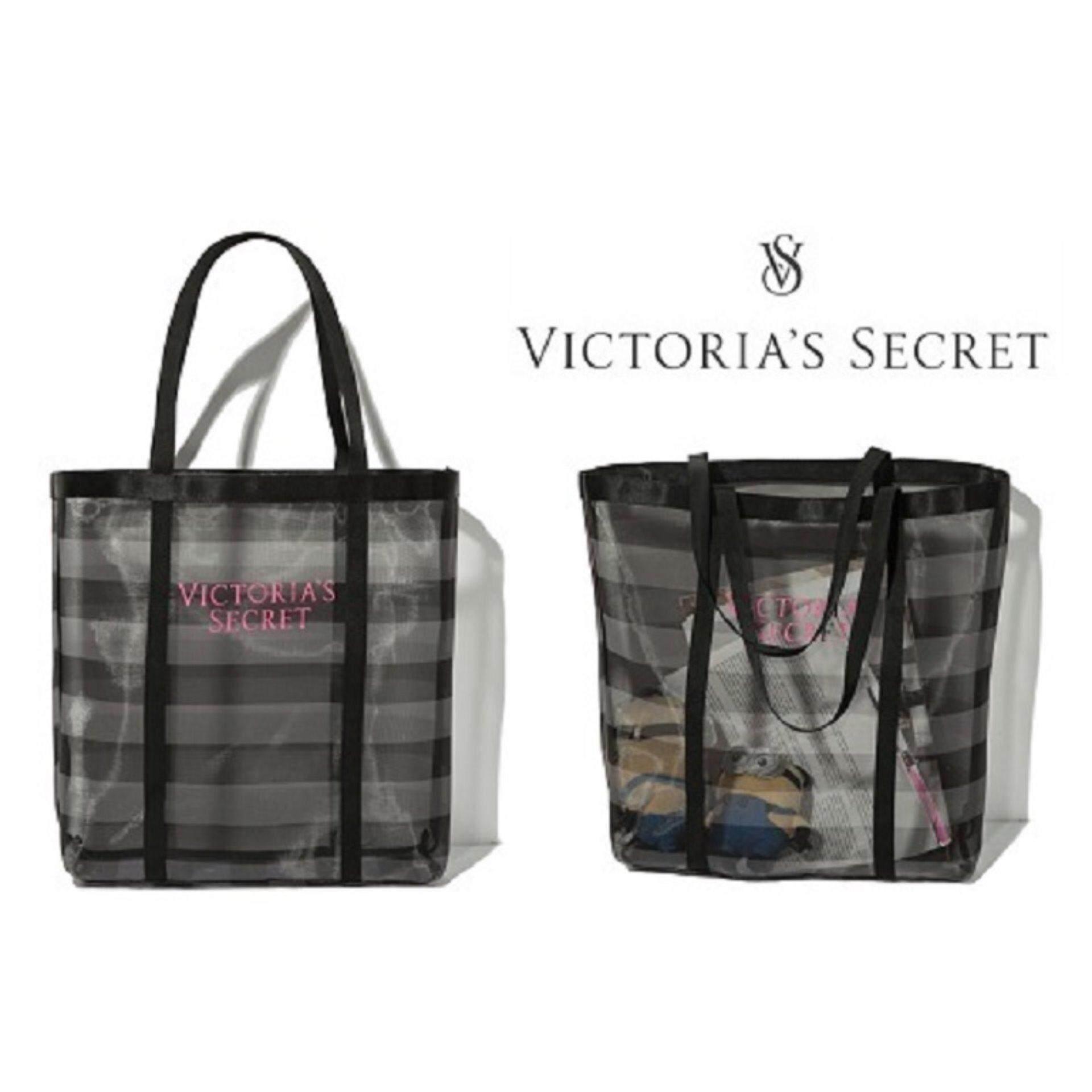 94b0cf5af8c07 Authentic RARE VICTORIA\'S SECRET Mesh Tote Bag