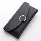 WLT-046 Baelberry N1162 Woman Big Space Lady Fashion Wallet Purse [ROYAL BLUE]