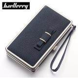 WLT-047 Baelberry N1228 Women Lady Clutches Bow Purse(DARK BLUE)