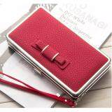 WLT-047 Baelberry N1228 Women Lady Clutches Bow Purse(RED)