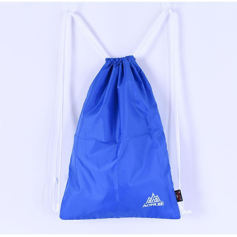 Beam Tas Ransel Tas Berfungsi Ganda Shoulder Bag Women Simple Travel Backpack Tas Bekas Gym Bag Ringan Gym BagBlue-Intl
