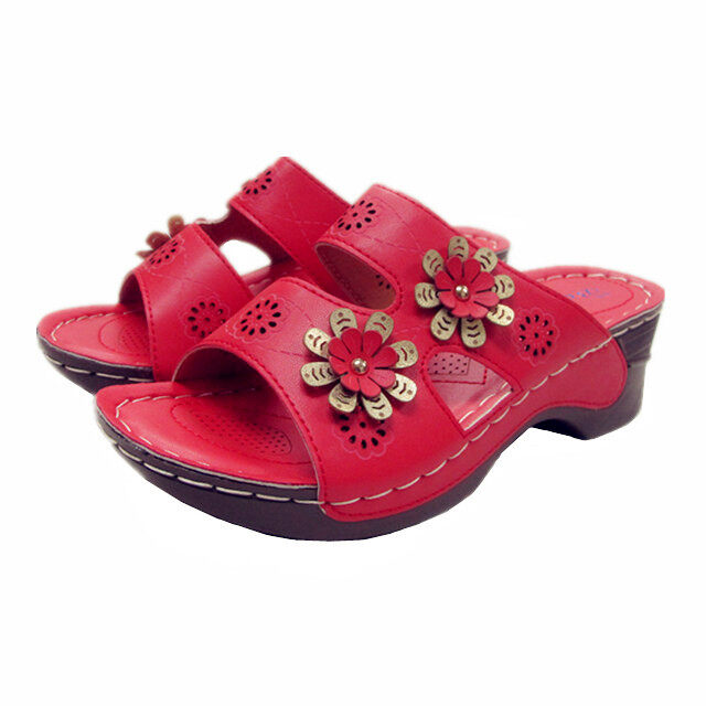BELLI COMFORT SHOES HS55076 RED