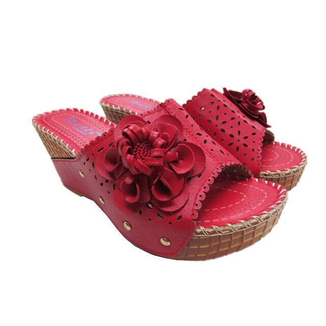 BELLI WEDGES SHOES HS55070 RED