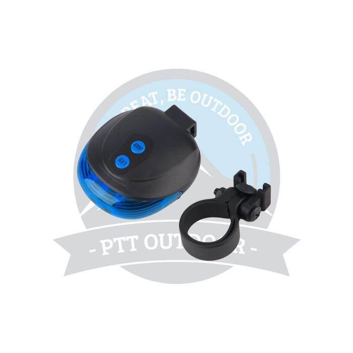 [ BEST SELLER ] 5 LED Laser Trail Beam Bike Bicycle Light -Blue
