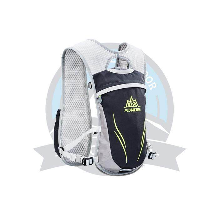 [ BEST SELLER ] Aonijie Outdoors Backpack 5.5L E885# Hydration Pack for Running Riding -Black