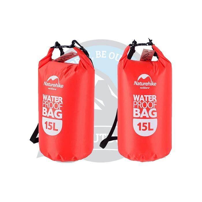 [ FREE DELIVERY ] Naturehike Multifunctional 15L Dry Bag Camping Hiking Waterproof Bag Sports Outdoor Dry Bag -Orange