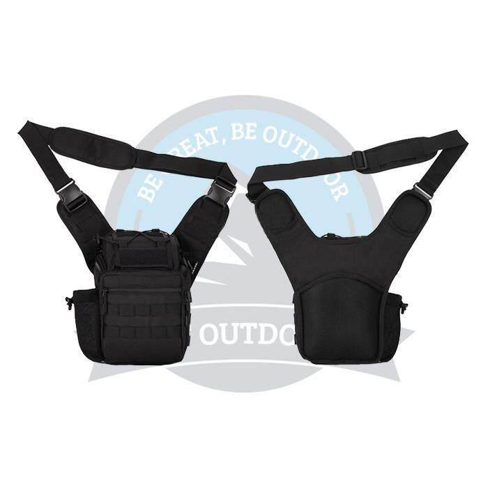 [ BEST SELLER ] Protector Plus Sling Crossbody Mens Sling Bag Premium Casual Multifunctional Men Sling Bag -Black