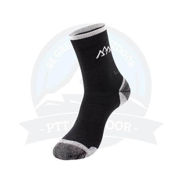 [ BEST SELLER ] Santo Coolmax Quick Dry Long Sock - BLACK