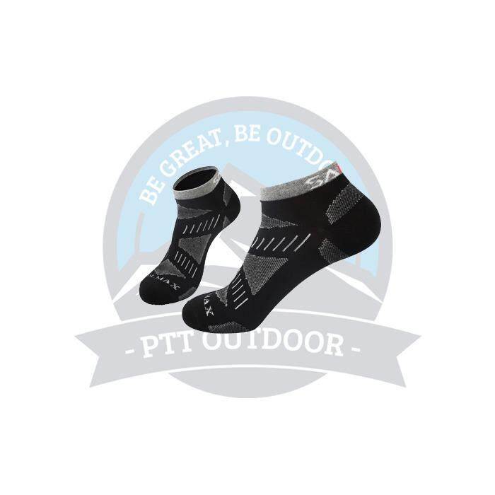 [LOCAL DELIVERY] SANTO outdoor Mountaineering Quick-Drying Socks Boat Socks Summer Thin Section Sports Socks - BLACK
