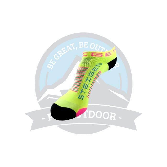 [ BEST SELLER ] Steigen Zero Length Anti Blister Socks Outdoor Sports Athletic Socks - SHERBET YELLOW