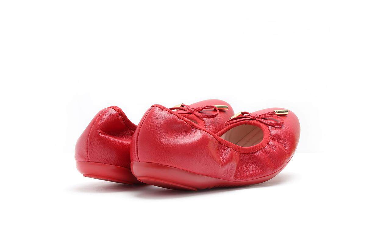 Big Red Comfortable Dancing Shoe