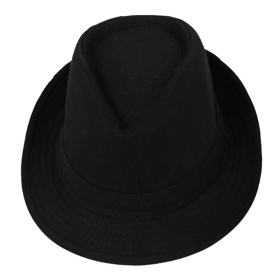 Fitur Hitam Fedora Topi Polos Pakaian Aksesori Untuk Gangster Fancy Houseofcuff Hat List Cream Dress Intl 3