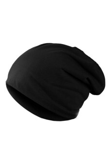 Harga Bluelans(R) Crochet Knit Beanie Hat (Black)