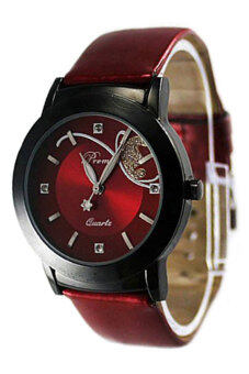Harga Bluelans(R) Leather Watch (Red)