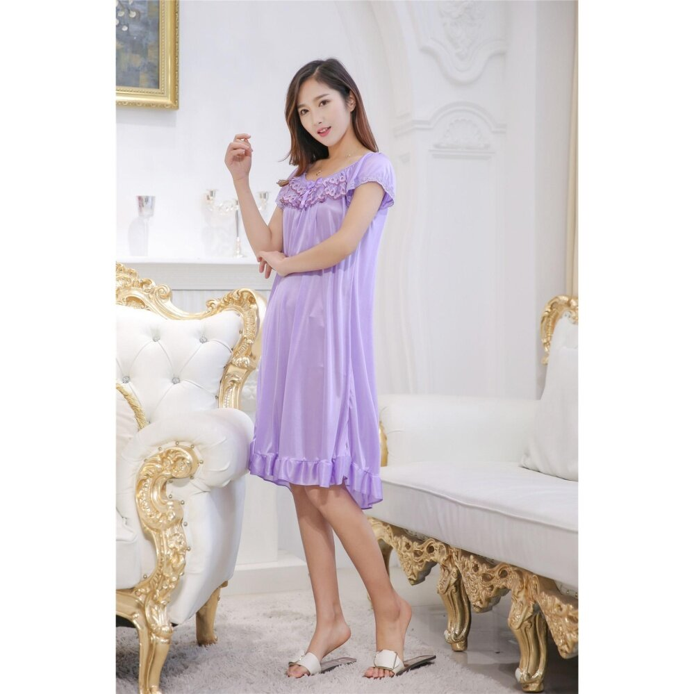 194ddee66e2 Bolster Store Ladies Women Sexy lingerie Sleepwear Short Sleeve ...