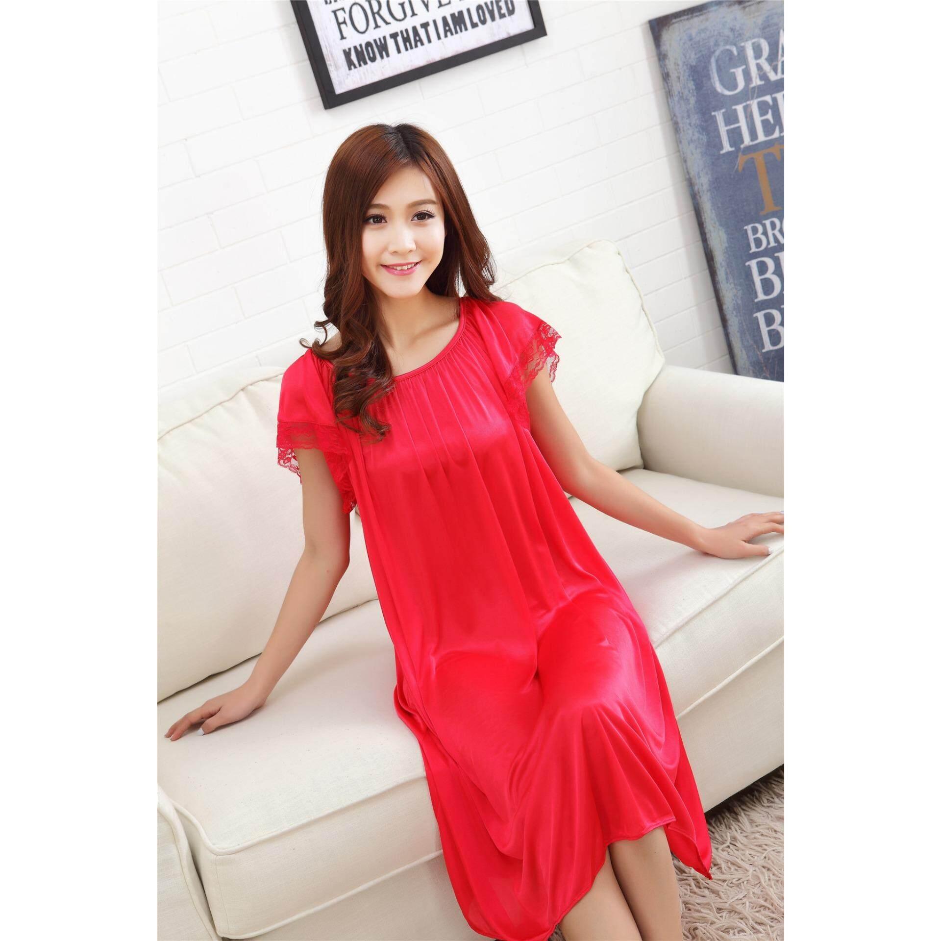 7f550efc2 Bolster Store Ladies Women Sleepwear Sexy Lingerie Basic Plain ...
