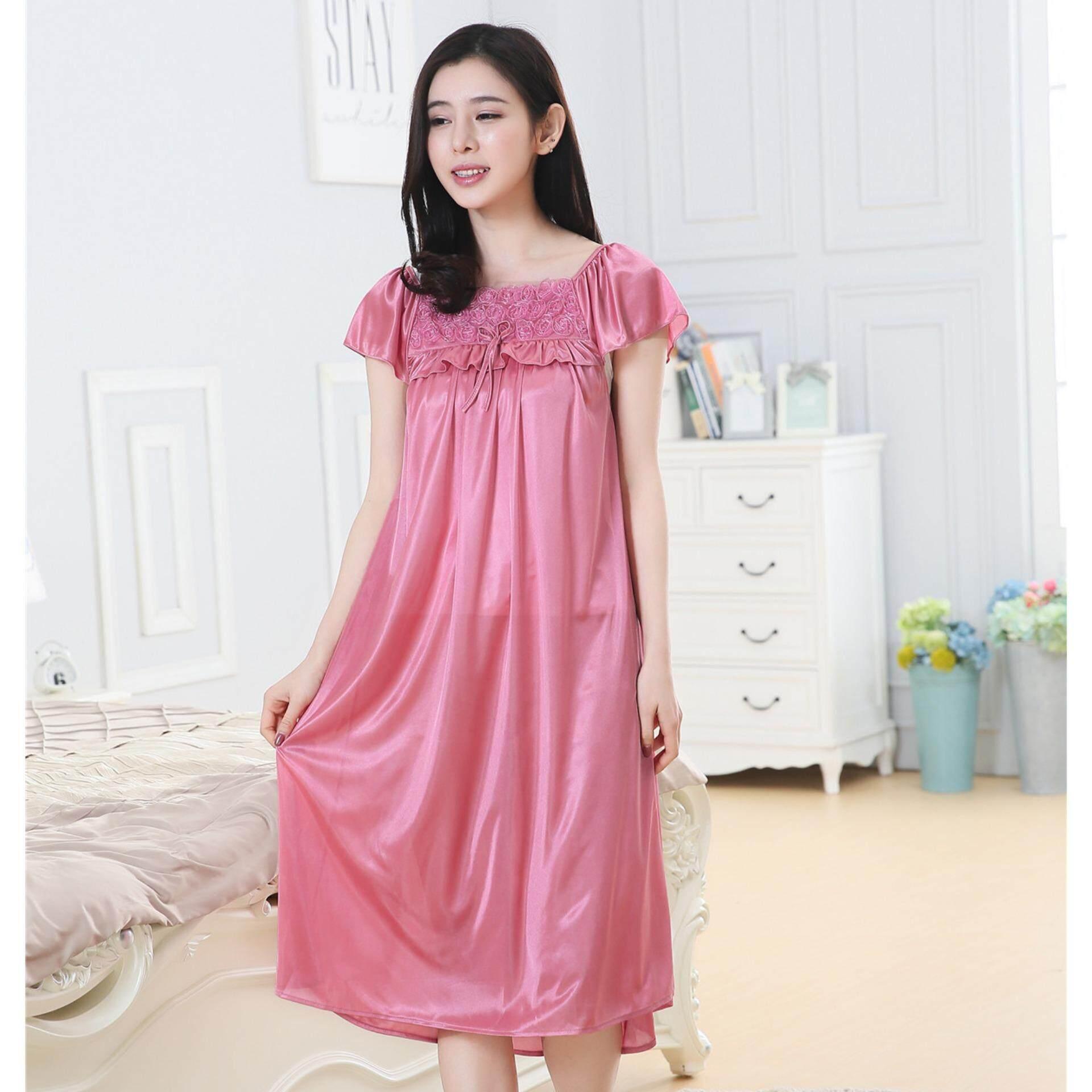 e364f55ca Bolster Store Ladies Women Sleepwear Sexy Lingerie Pajamas Long ...
