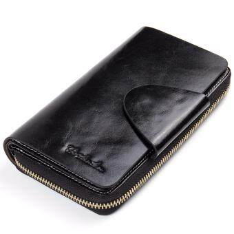 BOSTANTEN Real Genuine Leather Women Wallets Brand Designer High Quality Cell phone Card Holder Long Lady Wallet Purse Clutch