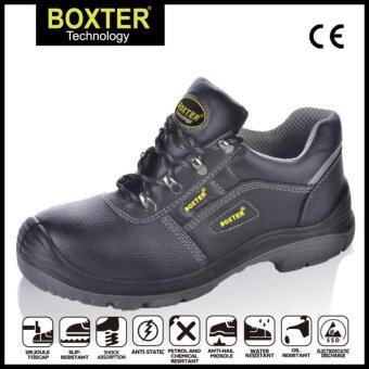 Harga BOXTER Safety Shoes Low Cut Style,Light Weight,Soft Sole,S3SRC,(Size:UK 3-13)