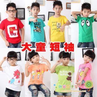 Boy children's clothing wholesale big virgin boy New styleshort-sleeved t-shirt (Ensure that the description inside thepattern)