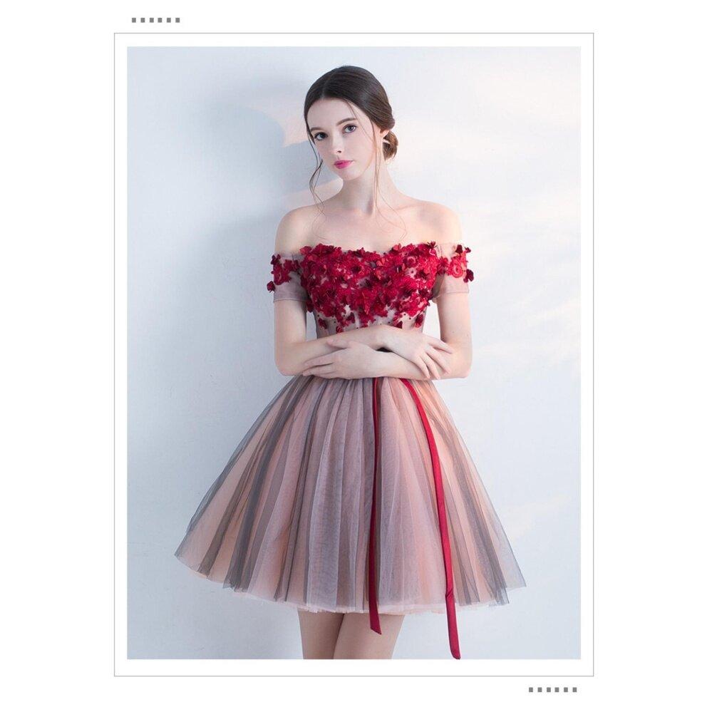 Bridal evening gown elegant dress