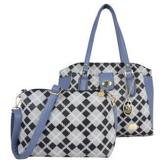 Harga British Polo Women & Ladies 2 in 1 Value set (Blue)