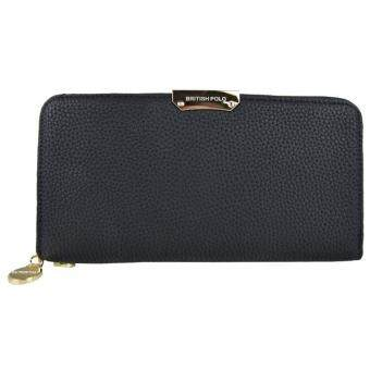 Harga British Polo Women Latest Classic Wallet (Black)