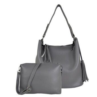 Harga British polo Women Limited design Bag(Grey)