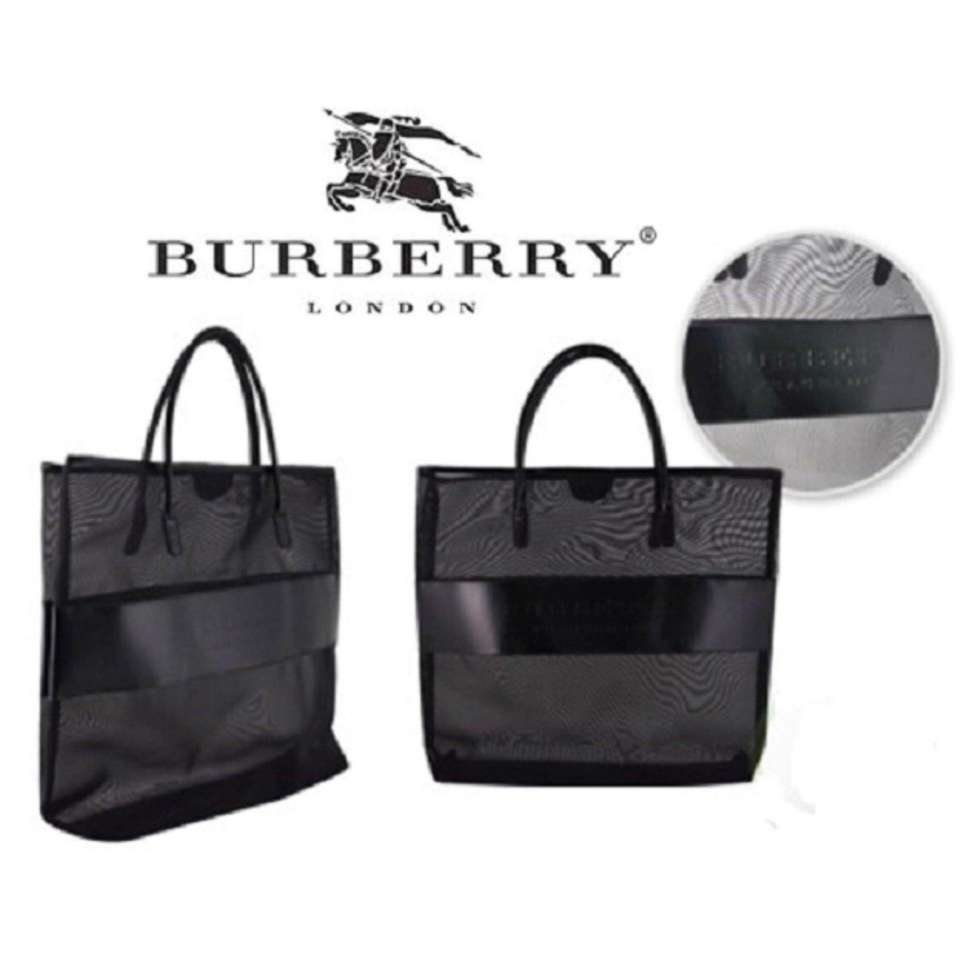 7c256ecfc5bd Burberry Mesh Tote Bag- Clearance Sale Below Cost