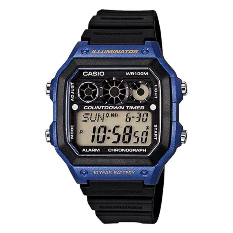 Casio AE-1300WH-2AVDF Mens Watch Blue Malaysia