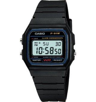 CASIO F-91W-1DG Men's Watch Black