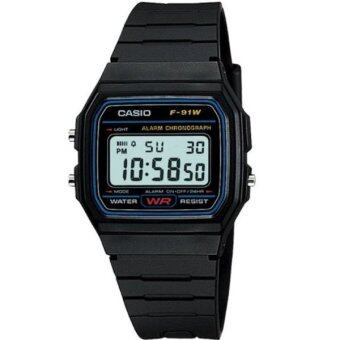 CASIO F-91W-1HDG Men's Watch Black