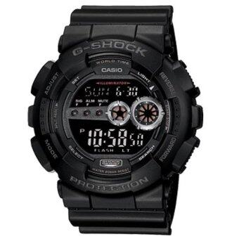 Harga Casio G-Shock GD-100-1B Black