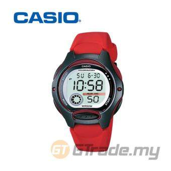 Harga Casio Standart LW-200-4AV Digital Watch Red