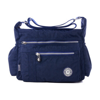Casual cross-body mother nylon women's bag Oxford Cloth Bag (Dark blue color)