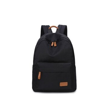 Casual Solid Women Backpack School Bag Large Capacity For Teenagers Girls  Simple Travel Bags Lady Back 73019e4e38