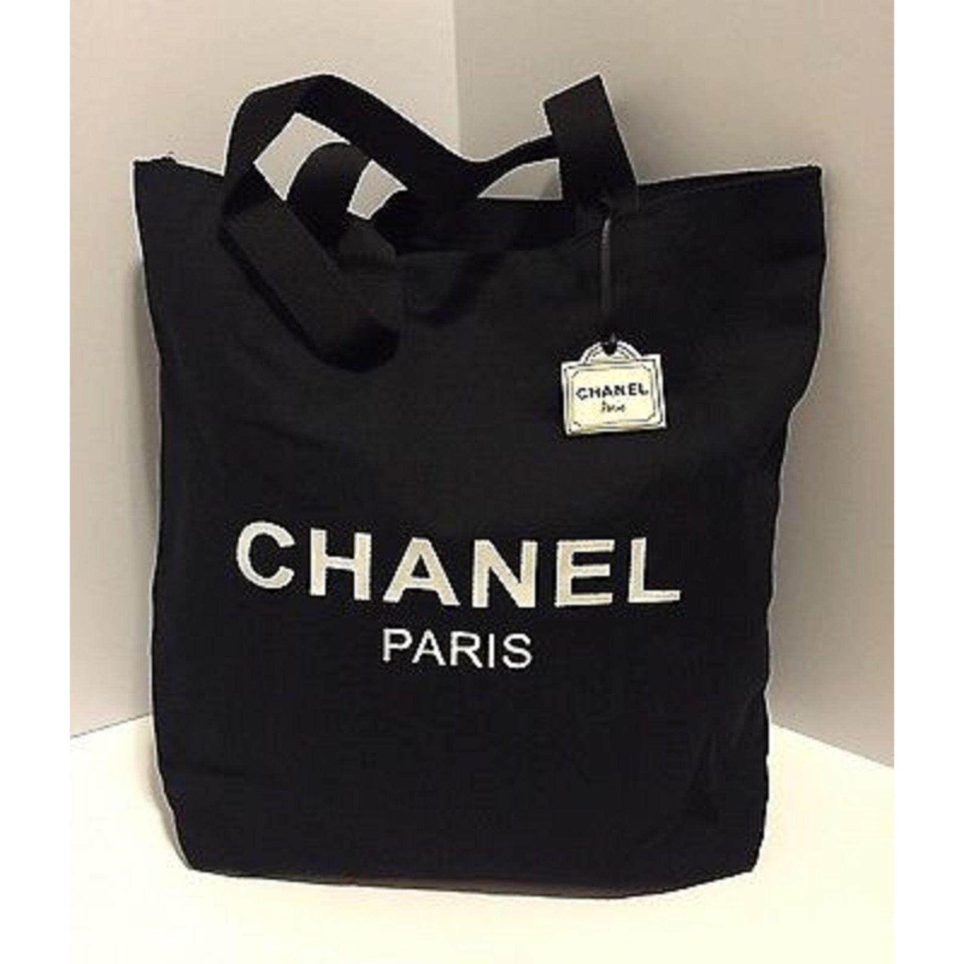 Chanel VIP GIFT Thick Canvas Tote Bag- Very Rare (Clearance Sale)