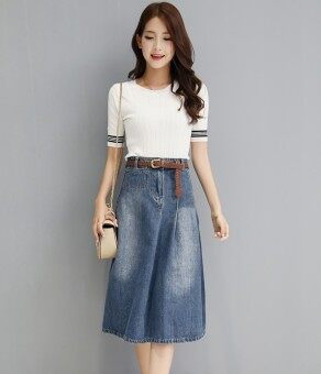 Harga Classic Denim Skirt