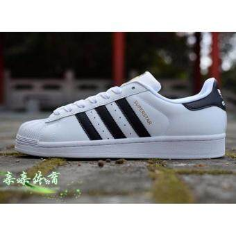Harga Classic Inspired addidas Superstar Sneakers Canvas Shoes