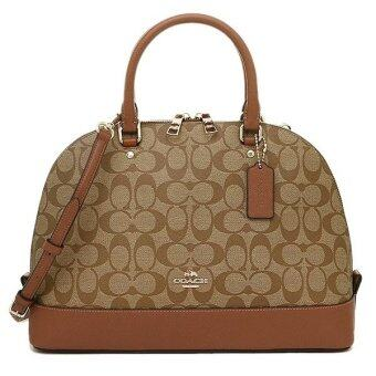 Coach F37233 Sierra Satchel In Signature (Brown)