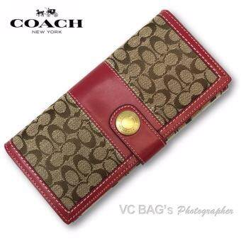 COACH F40491 Ergo Signature Wallet
