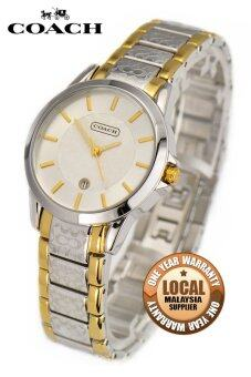Coach Women's Silver Stainless Steel Watch 14501430