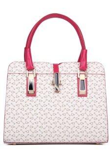 COMO Tote Bags Set of 3- White