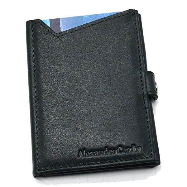 Credit Cards Wallet Trifold Leather Card wallet Slim Thin Credit Cards Holder Front Pocket Wallet Money Clip - intl