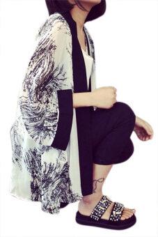 Cyber Chiffon Kimono Cardigan Blouse (Branch) | Lazada Malaysia