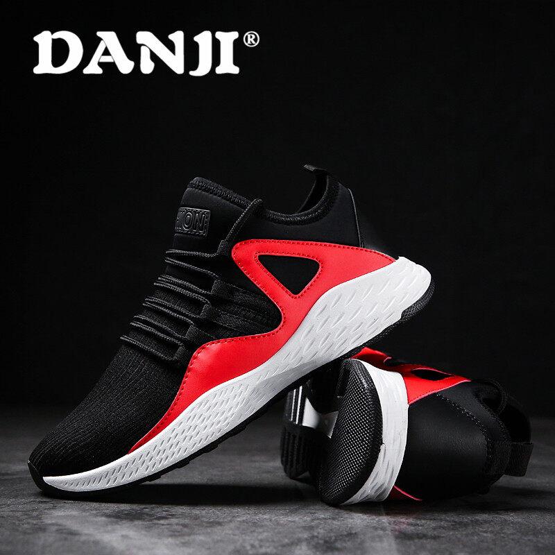 ... Danji 2017 Baru Pria Sepatu Kets Olahraga Sepatu untuk Karet Pria  Sneaker Lari Spring Menjalankan- ... b7be2b84d1